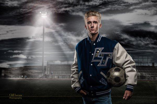 Athletic background